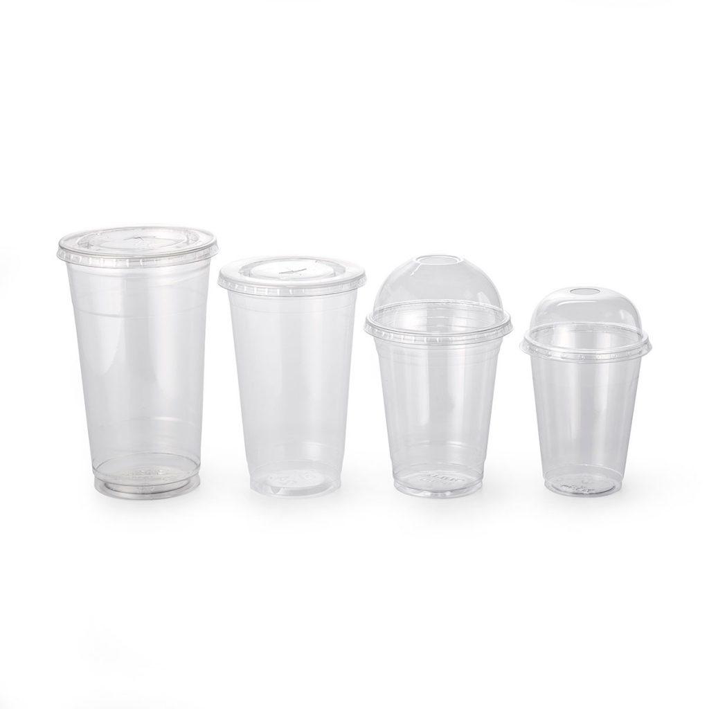 צלחות וגביעי פלסטיק